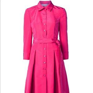 Carolina Herrera shirt dress! 100% silk
